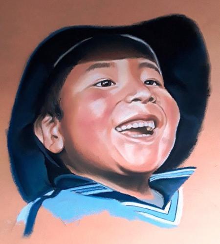 Peruaanse jongen