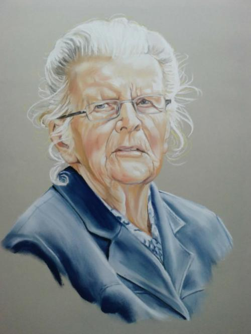 Portret in pastel